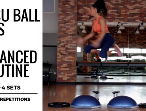 ADVANCED BOSU BALL LEG WORKOUT