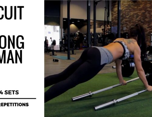STRONG WOMAN CIRCUIT TRAINING