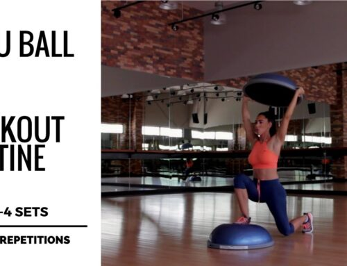 Bosu Ball Workout Routine